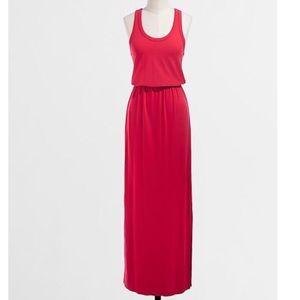J. Crew Factory Stretch Maxi Dress